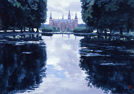 View of the Castle of Frederiksborg