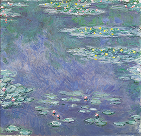 """Water Lilies""(1907)"