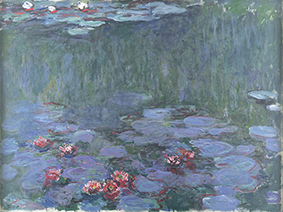 """Water Lilies""(1914-1917)"